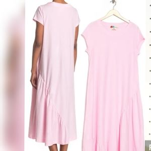 NWT Free People Lena Cotton Midi Dress